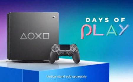 PlayStation 4 Days of Play, la nueva edición limitada de la consola