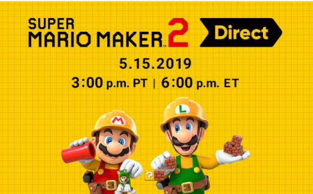 Habrá un Nintendo Direct de Super Mario Maker 2