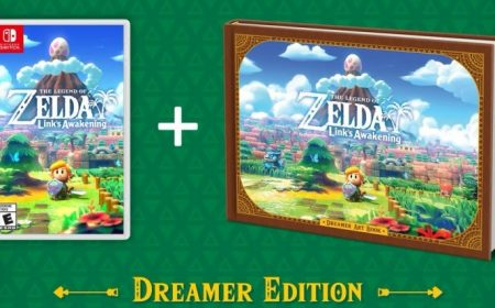 The Legend of Zelda: Link's Awakening revela su Dreamer Edition