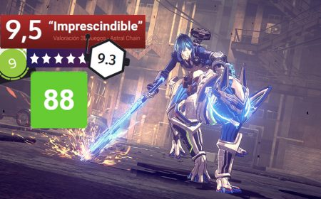 ¡Astral Chain, exclusivo de la Switch, arrasa con las críticas!