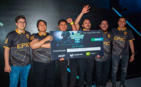 Counter Strike: Supremacy Gaming es el campeón de la Copa Predator GeForce 2019