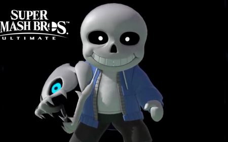 Sans de Undertale llega a Super Smash Bros Ultimate (como disfraz)