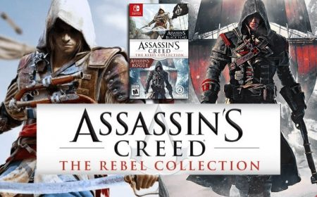 Assassin's Creed: The Rebel Collection ya disponible en Nintendo Switch