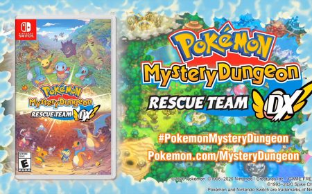 ¡Se anuncia Pokemon Mystery Dungeon Rescue Team DX!