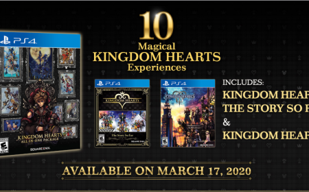 Anuncian Kingdom Hearts All in One Package