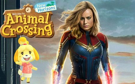 Capitana Marvel presenta su isla de Animal Crossing: New Horizons