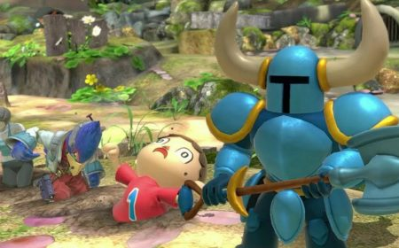 Es una pena que Shovel Knight no sea parte de Super Smash Bros