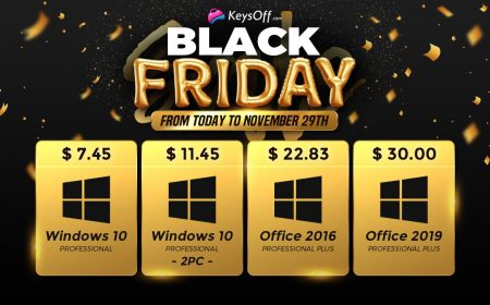 Súper venta por Black Friday: Windows 10 Pro a $ 7.45 USD
