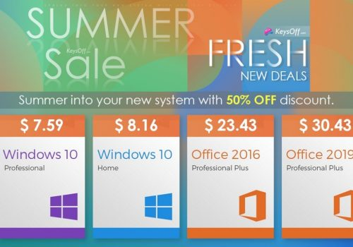 Ofertas de verano: MS Office al precio más barato! Windows 10 a $ 7.59, Office 2019 a $ 30.43